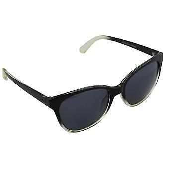 Solglasögon Kvinnors Polaroid Wayfarer - Svart/Grön med gratis brillenkokerS357_1