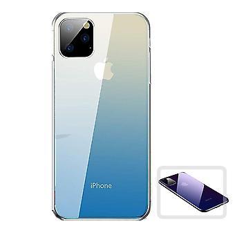 iPhone 11 Pro Shell Gennemsigtig/Blå