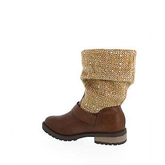 Jessica Simpson Girls Toddler/Youth Summit Brown Boot 2M