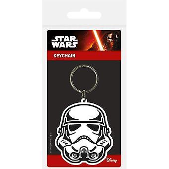Star Wars Storm Trooper Rubber Sleutelhanger