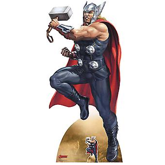 Thor Mjolnir Enchanted War Hammer Marvel Legends Official Cardboard Cutout