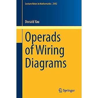 Operads of Wiring Diagrams by Donald Yau - 9783319950006 Book