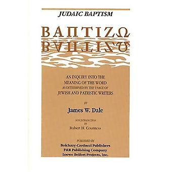 Judaic Baptism (PB)