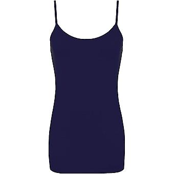 Dames Plain Camisole Mini Jurk
