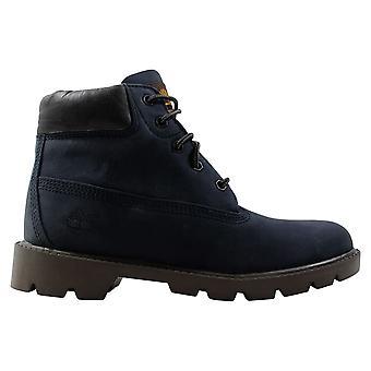 Timberland 6 Inch Boot Navy/Nubuck 10971 M Grade-School