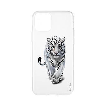 Casco para iPhone 11 Pro Max Soft White Tiger