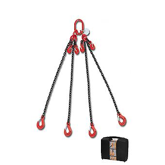 Beta 080980042 Chain Sling 4 Legs And Grab Hook In Plastic Case 8mm 2 Mt