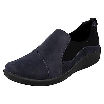 Ladies Clarks Cloudsteppers Casual Slip On Shoes Sillian Paz