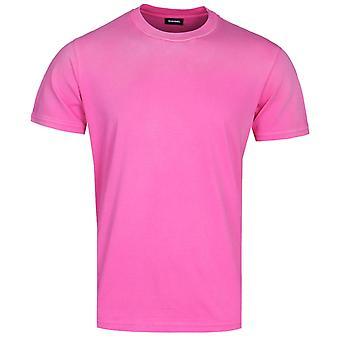 Diesel T-Shin Maglietta Fuchsia Pink T-Shirt