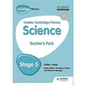 Hodder Cambridge Primary Science Teacher's Pack 5 by Helen Lewis - 97