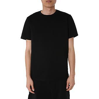 Moschino 071070380555 Männer's schwarze Baumwolle T-shirt