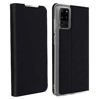 Couverture protectrice pour Galaxy S20 Ultra Cardholder Akashi support vidéo Noir