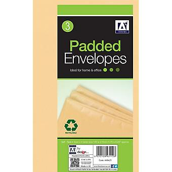 Anker Padded Brown Envelopes (Pack of 3)