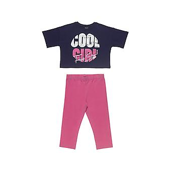 Alouette Girls' Five Star T-Shirt Set Cropped With Print And Towel