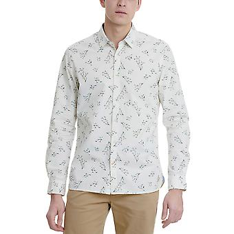 Funky Buddha Men's Shirt In Allover Print