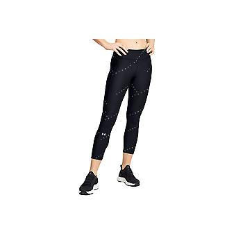 Under Armour HG Armour Prt Ankle Crop 1353296-001 Womens leggings