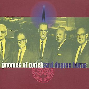 Gnomes of Zurich - 33rd Degree Burns [CD] USA import