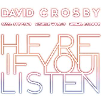 David Crosby - Here If You Listen [CD] USA import