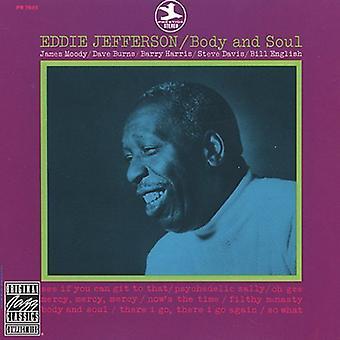 Eddie Jefferson - Body & Soul [CD] USA import