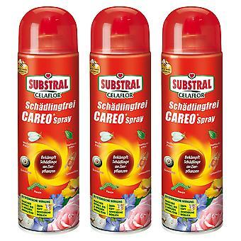 Sparset: 3 x SUBSTRAL® Celaflor® Pest-free Careo® Spray, 400 ml