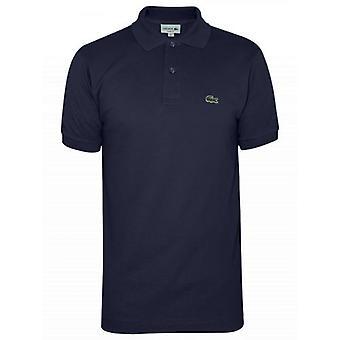 Lacoste Классический L1212 Морской Голубой Поло Рубашка