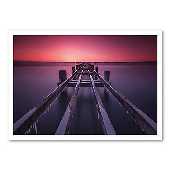 Art-Poster - first light - Raymond Hoffmann