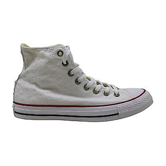 Converse Womens Chuck Taylor All Star Hi Fabric Hight Top Lace Up Fashion Sne...