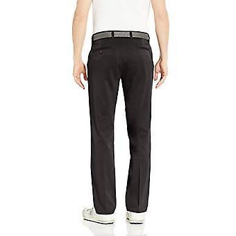 Essentials Men&s Standard Straight-Fit Stretch Golf Pant, Czarny, 40W x 32L