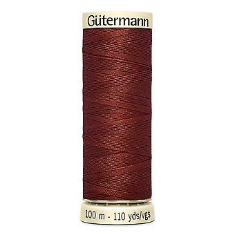 Gutermann Naai-alle 100% polyester draad 100m hand en machine kleurcode - 227