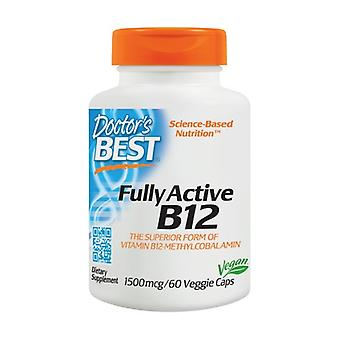 Fully Active B12, 1500mcg 60 vegetable capsules