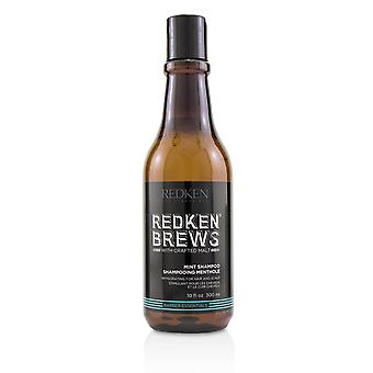 Brews mint shampoo (invigorating for hair and scalp) 223971 300ml/10.1oz