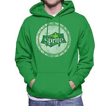 Geniet van Sprite 1960 White Bottlecap mannen Hooded Sweatshirt