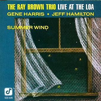 Ray Brown Trio - Live at de Loa-Summer Wind [CD] USA import