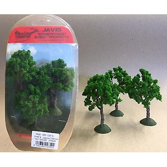 Countryside Trees Type 9 - 3 x 100mm OO Gauge