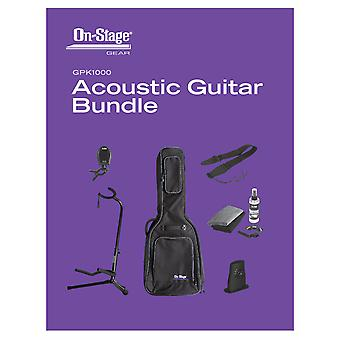 GPK1000, Pack guitare acoustique