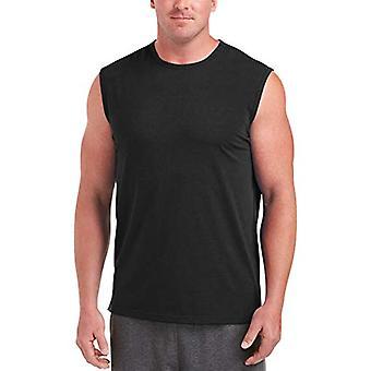 Essentials Men&s Big & Tall Performance Cotton Muscle Tank, DXL'ye uygundur,...