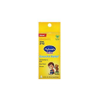 Hyland's, 4 Kids, Earache Relief Liquid Drops, Leeftijden 2-12, 0,33 fl oz (10 ml)