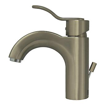Wavehaus Single Hole/Single Lever Lavatory Faucet With Pop-Up Waste - Brushed Nickel