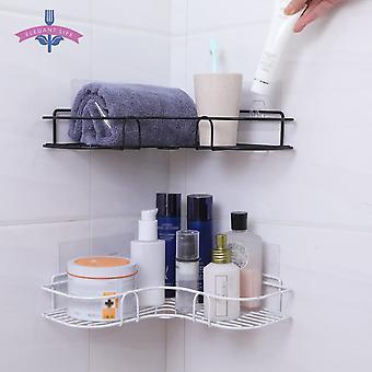 Kylpyhuone hylly metallinen säilytysteline, ruostumattomasta teräksestä punch-free suihku, keittiö