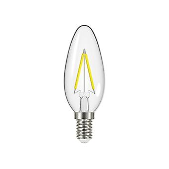 Energizer® LED SES (E14) Candle Filament Non-Dimmable Bulb, Warm White 470 lm 4W
