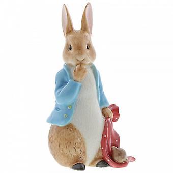 Figurina Peter Rabbit e il Pocket Handkerchief Limited Edition