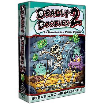 Dodelijke Doodles 2 Bordspel