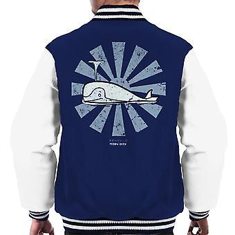 Moby Dick Retro japanska män's Varsity Jacket