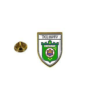 pine pine pine badge pine pin-apos;s souvenir city flag country coat of arms israel tel aviv