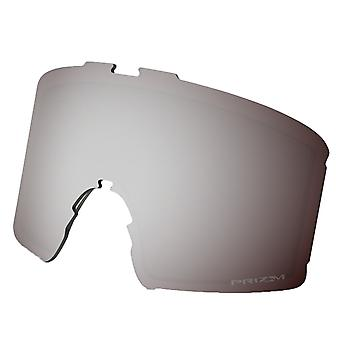 Oakley Line Miner Snow Goggle Replacement Lens - Prizm Black Iridium