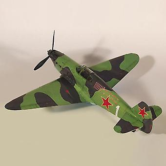 1:35 Soviet Yak-1 Fighter Diy 3d Paper Card Model Building Set- Educational