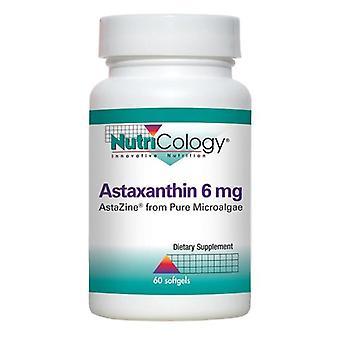 Nutricologie Astaxanthine, 6 mg, 60 Veg Caps