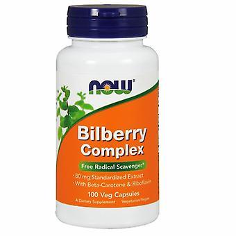 Nyt Elintarvikkeet Mustikka Complex 80 mg, 100 Caps