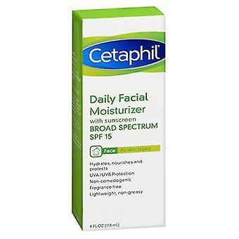 Cetaphil Cetaphil Daily Facial Moisturizer Spf 15, Fragrance free 4 oz