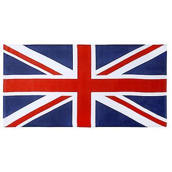 Union Jack Wear Union Jack Cotton Beach Towel